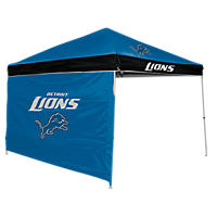 NFL Detroit Lions Canopy 9 x 9 with Wall