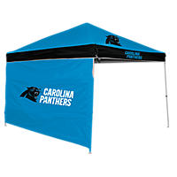 NFL Carolina Panthers Canopy 9 x 9 with Wall