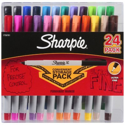 Sharpie® Ultra Fine Assorted - 24ct.  Ends: Nov 27, 2014 2:00:00 AM CST