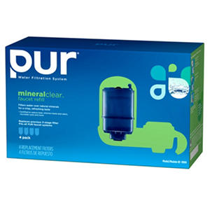 PUR® mineralclear™ Faucet Water Filter Replacement - 4 pk.