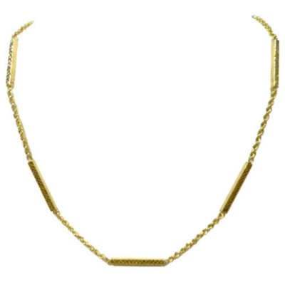 Rope Chain Diamond Cut Necklace in 14K Yellow Gold.  Ends: Jul 31, 2016 5:30:00 AM CDT