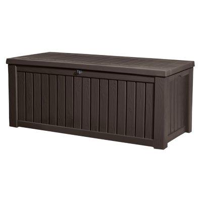 Keter Jumbo Deck Box - 150 Gallon.  Ends: Aug 31, 2015 12:00:00 AM CDT