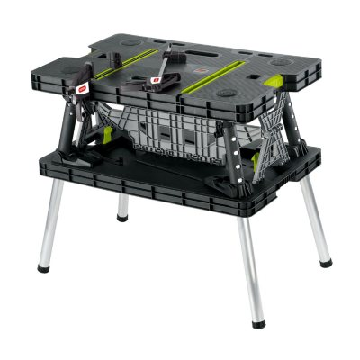 Keter Folding Work Table.  Ends: Oct 10, 2015 2:00:00 AM CDT