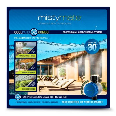 Misty Mate Cool Patio 32' Outdoor Mist System.  Ends: Oct 30, 2014 1:14:00 PM CDT