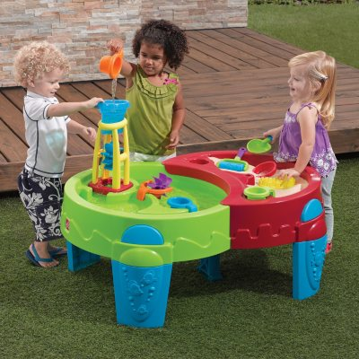Shady Oasis Sand & Water Table with Umbrella.  Ends: Jul 26, 2014 1:00:00 PM CDT