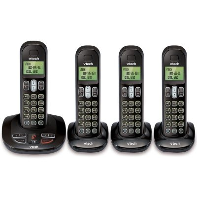 Vtech 4 Handset Cordless Phone with Answering System