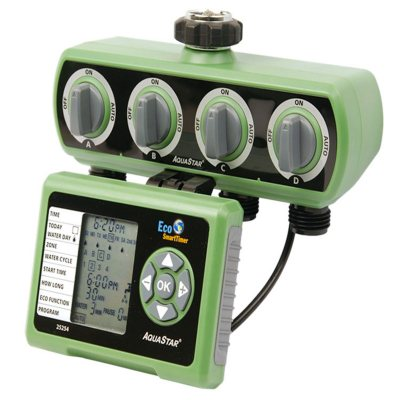4-ZoneProgrammable Electronic Water Timer.  Ends: Jul 27, 2016 2:00:00 PM CDT