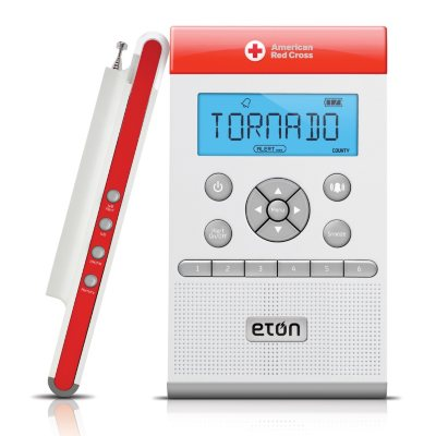 American Red Cross Zone Guard Weather Alert Radio.  Ends: Apr 19, 2015 6:10:00 PM CDT