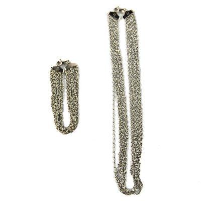 Twist Magic Neck and Bracelet Set