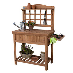 Leisure Time Cedar Wood Potting Bench Auctions