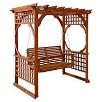 Leisure Time Pergola Swing
