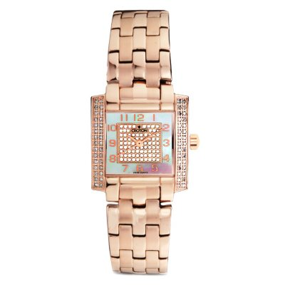 Croton 0.75 ct. t.w. Diamond with Mother of Pearl Watch in Rose Gold and Stainless Steel.  Ends: Oct 25, 2014 5:55:00 AM CDT