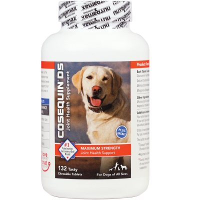 Cosequin DS Plus MSM Joint Health Supplement for Dogs (132 Chewable Tablets).  Ends: May 25, 2016 9:30:00 PM CDT
