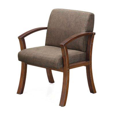 Whalen Alton Collection Guest Chair, Brown/Black
