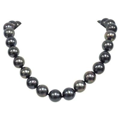 9-12mm Cultured Tahitian Pearl Necklace.  Ends: May 25, 2016 4:00:00 PM CDT