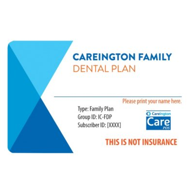 Careington Family Dental Plan: Valid for One Full Year.  Ends: Sep 3, 2014 5:00:00 AM CDT