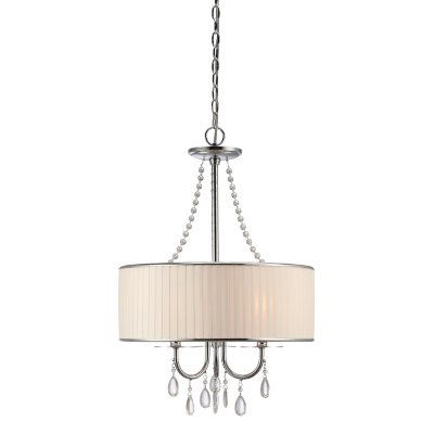 Clarissa 3 Light Crystal Pendant Lamp.  Ends: Oct 21, 2014 10:06:00 AM CDT