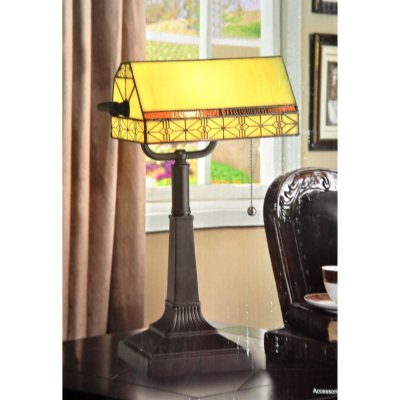 Tiffany-Style Banker's Lamp