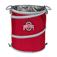 3-In-1 Collapsible Cooler Hamper Wastebasket Ohio State