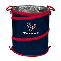3-In-1 Collapsible Cooler Hamper Wastebasket Houston Texans