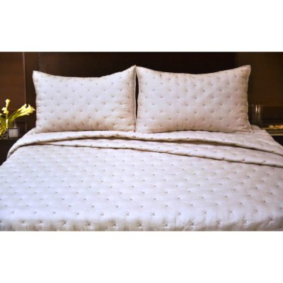 Nicole Miller 3 pc. Coverlet Set (Queen).  Ends: Dec 19, 2014 6:10:54 AM CST