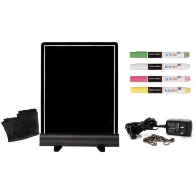 "Luma Vue LED Erasable Marker Board (22""x 18"").  Ends: Dec 18, 2014 10:45:00 PM CST"