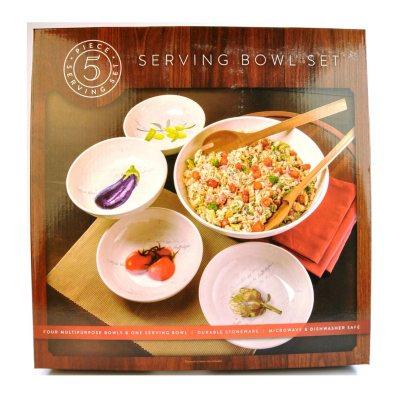 Pasta Serving Bowl Set, 5-Piece.  Ends: Mar 31, 2015 6:45:00 AM CDT