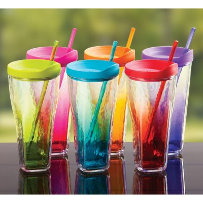 Insulated Tumblers - Set of 6.  Ends: Sep 2, 2014 6:40:00 AM CDT