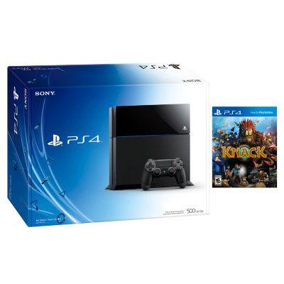 PS4 Console with Knack Bundle.  Ends: Dec 20, 2014 10:10:00 PM CST