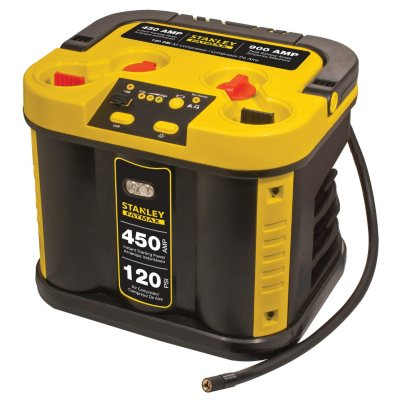 STANLEY FATMAX 450 Amp Jump Starter with Compressor.  Ends: May 30, 2016 12:15:00 AM CDT