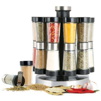 Orii Gourmet 20-Jar 2-N-1 Hourglass Spice Rack.  Ends: Nov 1, 2014 6:45:08 AM CDT