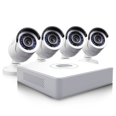 Swann 8 Channel D1 Security System with 500GB Hard Drive, 4 600 TVL Cameras, and 65' Night Vision.  Ends: Sep 19, 2014 12:00:00 AM CDT