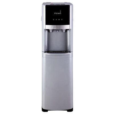 Primo Pro-Select Bottom-Load Hot and Cold Water Dispenser, Silver/Stainless Steel.  Ends: Jun 27, 2016 6:00:00 AM CDT