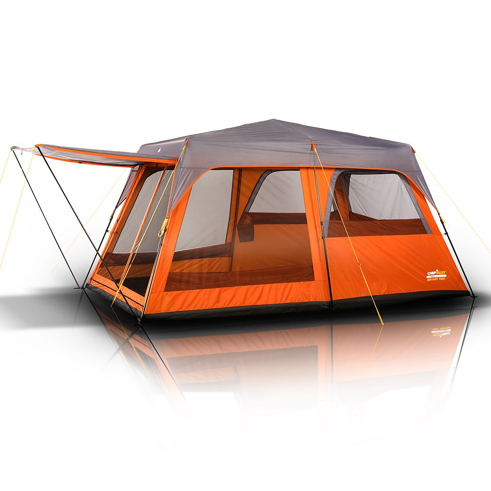 Instant Cabin Tent : Campvalley person instant cabin tent quot l w