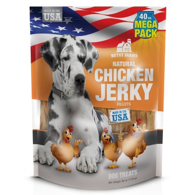 Betsy Farms - Chicken Jerky - 40 oz. bag.  Ends: Mar 11, 2014 5:55:00 PM CDT