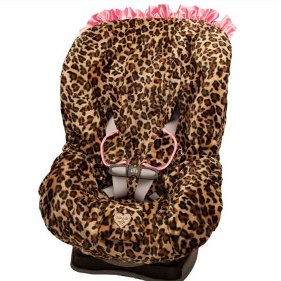 Baby Bella Maya Booster Seat Cover, Lollipop Leopard.  Ends: Nov 22, 2014 1:50:00 AM CST