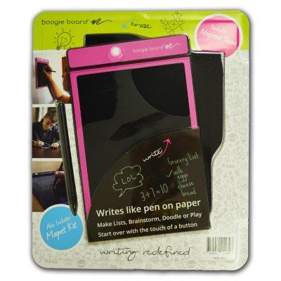 "Boogie Board E-Writer Paperless Memo Pad, 8.5"", Pink.  Ends: Jul 27, 2016 2:00:00 PM CDT"