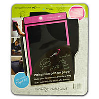 "Boogie Board E-Writer Paperless Memo Pad, 8.5"", Pink"
