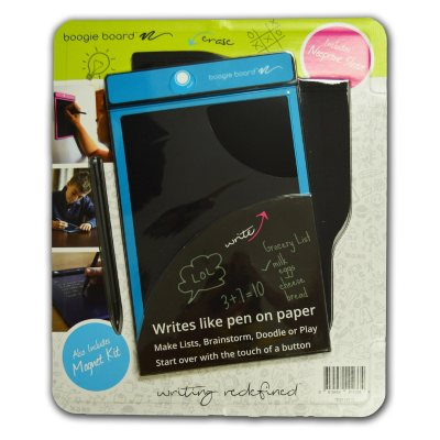 """Boogie Board E-Writer Paperless Memo Pad, 8.5"""", Turquoise.  Ends: Jul 26, 2016 1:00:00 PM CDT"""