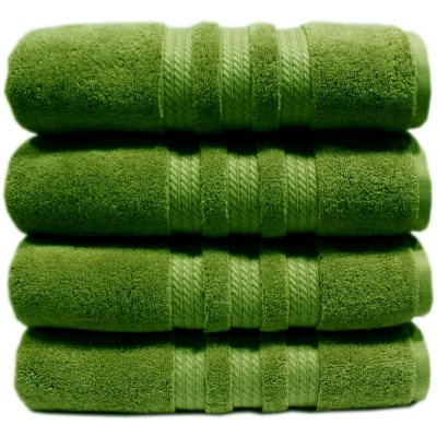 "100% Cotton Luxury Bath Towel, Apple Green (30"" x 58"") - 1 Towel Only.  Ends: Sep 2, 2014 1:55:00 PM CDT"