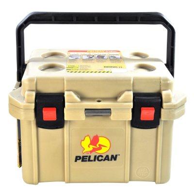 Pelican Progear 20-Qt. Cooler, Tan.  Ends: Jul 28, 2015 11:00:00 AM CDT