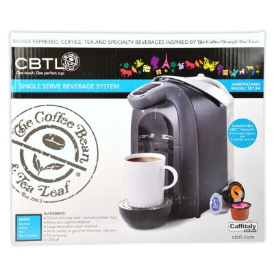 CBTL Americano Pod Coffee Maker.  Ends: Sep 21, 2014 10:00:00 PM EDT