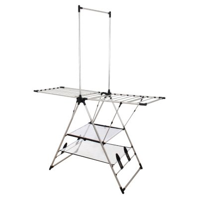 Greenway Indoor/Outdoor Stainless Steel Drying Center with Double Mesh Shelves.  Ends: Oct 9, 2015 12:30:00 PM CDT