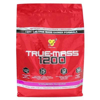 BSN True-Mass 1200 Powdered Protein Drink, Strawberry (10.25 lbs.).  Ends: Jan 29, 2015 1:00:00 AM CST