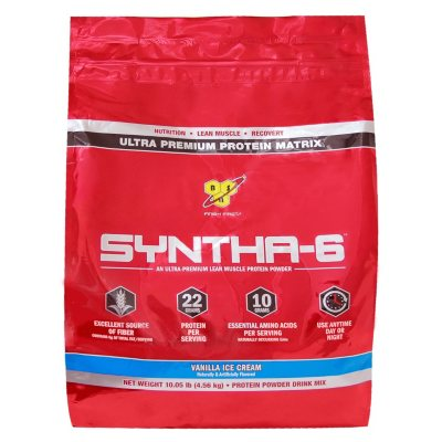 BSN Syntha-6 Protein Powder, Vanilla Ice Cream (10.05 lbs.).  Ends: Mar 5, 2015 10:05:00 PM CST