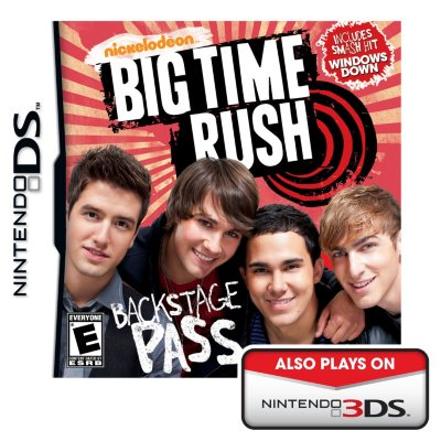 Nickelodeon Big Time Rush (Nintendo DS).  Ends: Aug 29, 2015 11:00:00 AM CDT