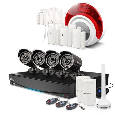 Swann 8 Channel 960H Security System with 1TB Hard Drive, 4 720TVL Cameras, Alarm Sensors, and 82' Night Vision.  Ends: Oct 9, 2015 10:25:00 PM CDT