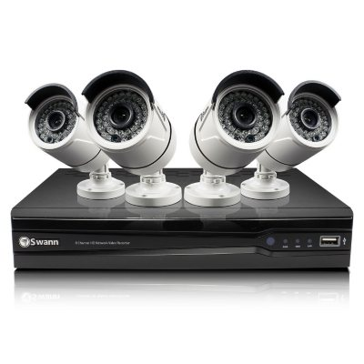 Swann 8 Channel 1080p Security System with 4 3MP Cameras, 2TB Hard Drive, and 100' Night Vision.  Ends: May 30, 2016 3:00:00 PM CDT