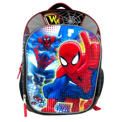 Marvel Spiderman Backpack.  Ends: May 3, 2016 11:55:04 PM CDT