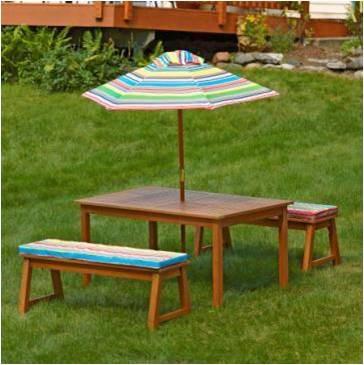 "Lifetime 32.5"" Kids Folding Picnic Table, Almond.  Ends: Jul 30, 2015 10:06:00 PM CDT"